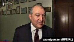 Армен Саргсян (архив)