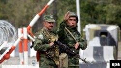 Передачу сотрудника грузинского МВД произвели российские пограничники