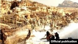 نمایی از فیلم «محمد» پرهزینهترین فیلم تاریخ سینمای ایران