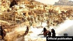 صحنهای از فیلم «محمد» ساخته مجید مجیدی