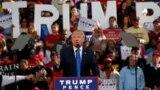 Дональд Трамп виступає на мітингу під час передвиборної кампані, 7 листопада 2016 року