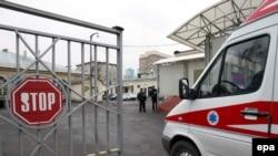 مسموميت غذايی دراین بیمارستان يک بيمار را به کشتن داد و سبب بستری شدن ۲۰۲ نفر از بيماران و کارکنان شد.