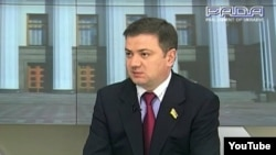 Former Ukrainian lawmaker Volodymyr Medyanyk (file photo)