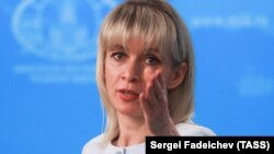 Foreign Ministry spokeswoman Maria Zakharova made the statements.