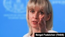 Мария Захарова, Ресей сыртқы істер министрлігінің өкілі