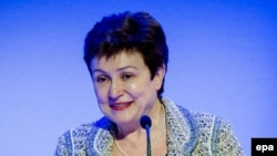European Union Commissioner Kristalina Georgieva (file photo)