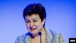 European Union Commissioner Kristalina Georgieva (file photo)