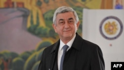 Armenian President Serzh Sarkisian's Republican Party won 58 of the 105 seats in parliamentary elections on April 2.