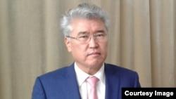 Министр культуры и спорта Казахстана Арыстанбек Мухамедиулы. Алматы, 19 ноября 2016 года.