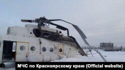 Авария с вертолетом, Красноярский край