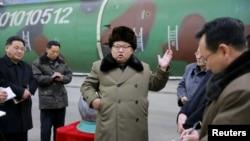 Şimali Koreyanın lideri Kim Jong Un
