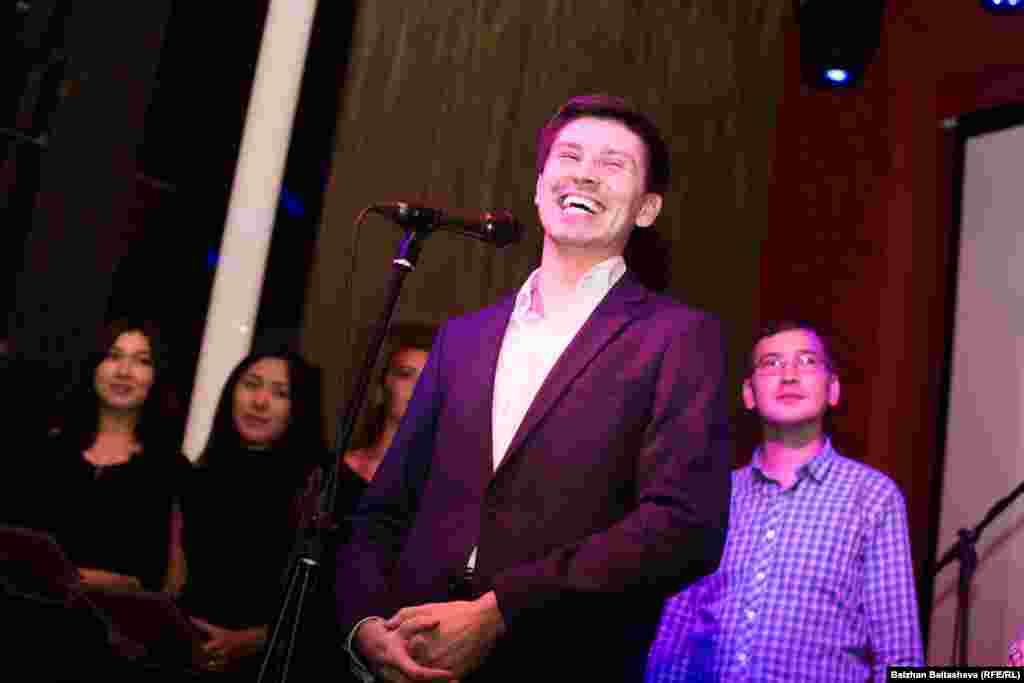 На церемонии награждения победителей Национальной интернет-премии Award.kz.