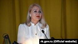 Заместитель главы российской администрации Ялты Ирина Романец
