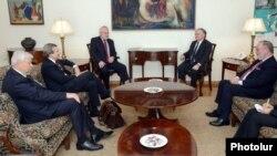 Встреча сопредседателей Минской группы ОБСЕ с главой МИД Армении Эдвардом Налбандяном, Ереван, 5 ноября 2013 г.