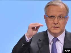 The EU's economic affairs commissioner Olli Rehn