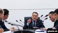 Председатель Центробанка Мамаризо Нурмуратов.