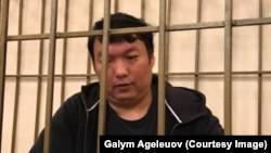 Казахстанский оппозиционный активист и блогер Муратбек Тунгишбаев.