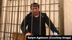 Задержанный в Кыргызстане по требованию казахстанских властей оппозиционный активист и блогер из Казахстана Муратбек Тунгишбаев в суде в Бишкеке по жалобе на решение о мере пресечения в виде содержания под стражей.