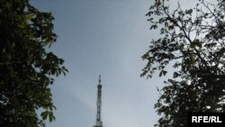 Тэлевізійная вежа ў Гомелі
