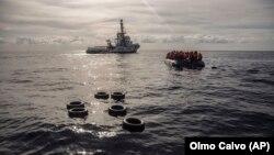 Spasilački brod na Mediteranu, ilustrativna fotografija