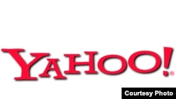 Yahoo интернет порталының логотипі.