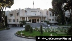 The attacker was shot in the leg upon trying to pass the security gate at Iran's presidential office building.