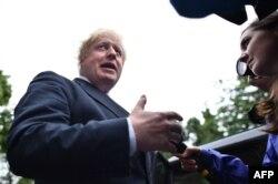 """Brexit-in tərəfdarı - Londonun keçmiş meri Boris Johnson: """"Bu, qələbədir. Britaniyanın müstəqillik günüdür!"""""""