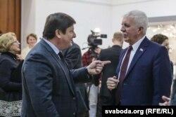 Ігар Марзалюк і Рыгор Кастусёў