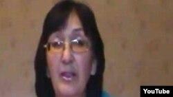 Балхашский адвокат Зинаида Мухортова. Скриншот из Ютуба.