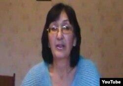 Адвокат Зинаида Мухортова. Скриншот Youtube желісінен алынды.