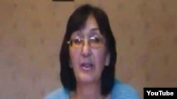 Балхашский адвокат Зинаида Мухортова.