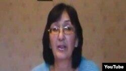 Зинаида Мухортова, балқаштық адвокат. (YouTube видеосынан алынған сурет)
