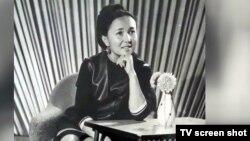 Умтул Шейше кызы Орозова. 1960-жыл.