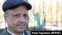 Абдрэшид Кушаев, беженец из Узбекистана. Алматы, 17 марта 2015 года.