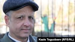 Өзбекстандық қашқын Әбдірешид Кушаев. Алматы, 17 наурыз 2015 жыл.