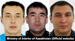 Images released by Kazakh police of the suspected poachers.