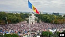 Воскресный митинг собрал десятки тысяч человек