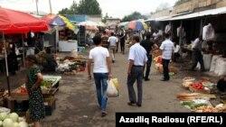 Arxiv foto. Ağstafa bazarı.