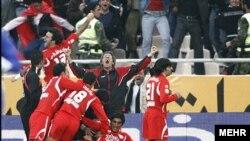 Iran--Tehran, Perspolis 2 Esteghlal 1, Iranian football league