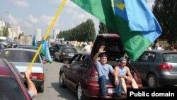 Казанда десантчылар бәйрәм итә. 2 август 2012