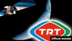 Turkey - Turkish national broadcasting channel TRT logo, undated