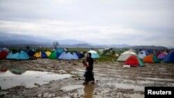 Idomeni - izbjeglički kapm
