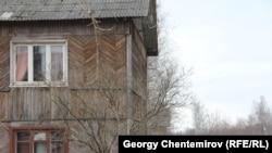Здание бывшего концлагеря