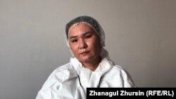 Врач-невролог Нурбахыт Серикова.