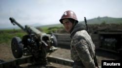 Dağlıq Qarabağda erməni artileriyası