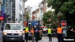 Švajcarski grad Šafhauzen u kojem se dogodio napad 24. jul 2017