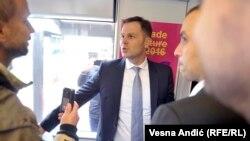Siniša Mali, gradonačelnik Beograda, za sada bez komentara o tvrdnjama o bankarskim računima