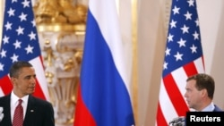 Саммит США и России в Праге