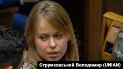 Елизавета Ясько, депутат от партии «Слуга народа»