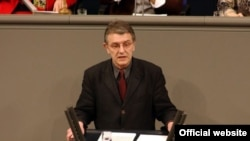 Christoph Straesser, a Council of Europe rapporteur for Azerbaijan